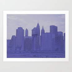 from Brooklyn Art Print