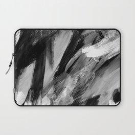 Abstract Artwork Greyscale #1 Laptop Sleeve