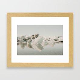 Icebergs XIV Framed Art Print