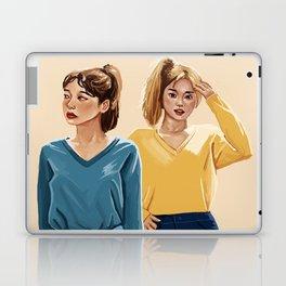 Blue and Yellow Laptop & iPad Skin