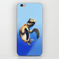 turtle iPhone & iPod Skins featuring Turtle by Anya McNaughton