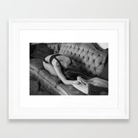 victorian Framed Art Prints featuring Victorian by Joyce Downing
