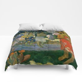 "Paul Gauguin ""Orana Maria (Hail Mary)"" Comforters"
