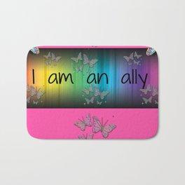 I Am an Ally Bath Mat