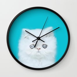 Lord Aries Cat - Photography 001 Wall Clock