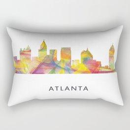 Atlanta, Georgia Skyline WB1 Rectangular Pillow