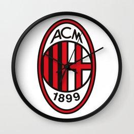 AC Milan Logo Wall Clock