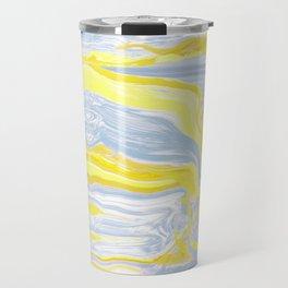 Spring soft serve marble Travel Mug