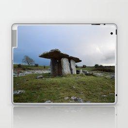 Pulnabrone Dolmen, Ireland Laptop & iPad Skin