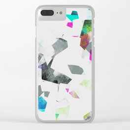 Camouflage XXXII Clear iPhone Case