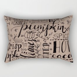 All Things Fall on Craft Rectangular Pillow
