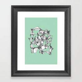 Tea Sandwich City Framed Art Print