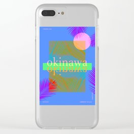 Okinawa Clear iPhone Case