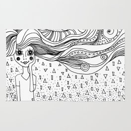 Hair in the Wind Rug