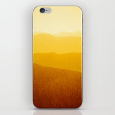 gradient landscape - sunshine edit iPhone Skin