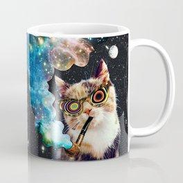 High Cat Coffee Mug