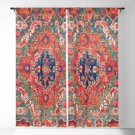 Alpan Kuba East Caucasus Rug Print Blackout Curtain