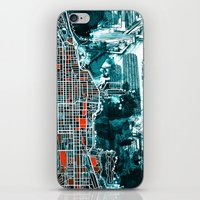 chicago iPhone & iPod Skins featuring chicago by Bekim ART