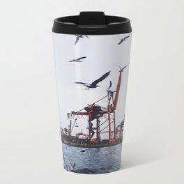 PORT OF HAYDARPASA Metal Travel Mug