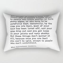 The Velveteen Rabbit, Rectangular Pillow