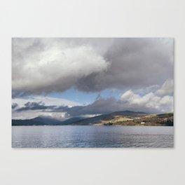 Balla Wray on Lake Windermere. Cumbria, UK. Canvas Print