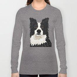 Beautiful Border Collie Long Sleeve T-shirt