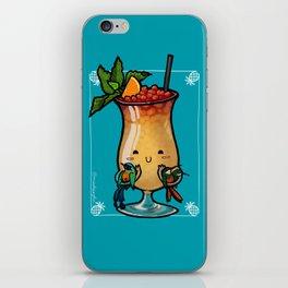 Food Series - Trinidad Cobbler (blue) iPhone Skin