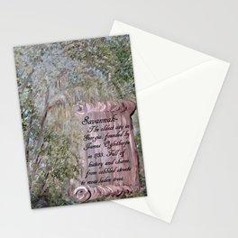 Savannah Scroll Stationery Cards