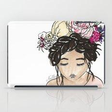 Flower Crown Clara iPad Case