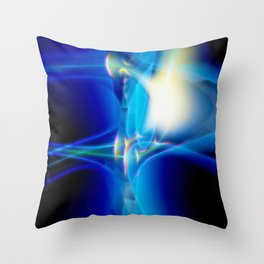 Abstract Composition 259 Throw Pillow