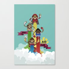 Street Fighter 25th Anniversary!!! Canvas Print