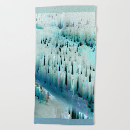 White Landscape / Snow 20-11-16 Beach Towel