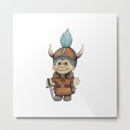 Vikingtroll Metal Print