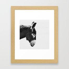 Everybody Loves Larry Framed Art Print