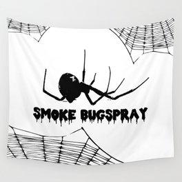 Smoke Bugspray Wall Tapestry