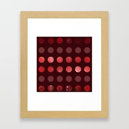 Larger Dots-A-Plenty Framed Art Print