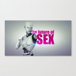 The Future of Sex Canvas Print