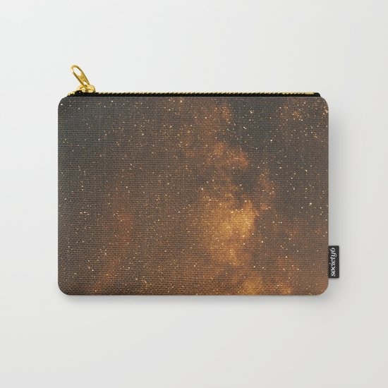 The Milky Way (Forest Landscape Photography, Starry Night Sky Photo) Carry-All Pouch