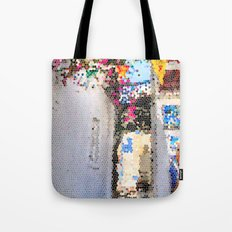 Tiffany Glass Style Greece Street Tote Bag