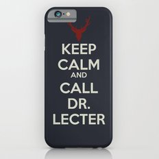 Keep Calm and Call Dr. Lecter Slim Case iPhone 6s