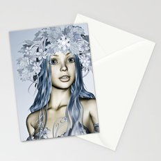 Snow Maiden Stationery Cards