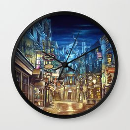 Diagon Alley Wall Clock