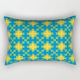 Aztlan Coatl Xōxōpan Rectangular Pillow