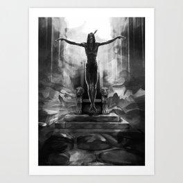 Últimas Visões (Latest Visions) Art Print