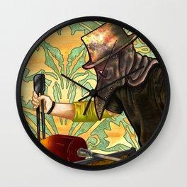 Plague Gaffer Wall Clock