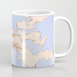 Blue on White Textures 21 Coffee Mug