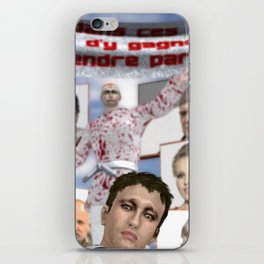 C'est moins d'y gagner que d'y prendre part!! iPhone Skin