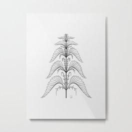 Nettle Metal Print