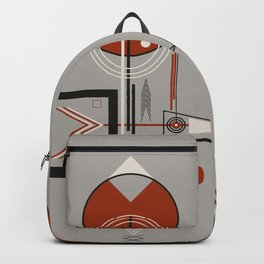 The bird and the fish at sunset Backpack