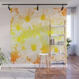 Sunshine Daisies Wall Mural